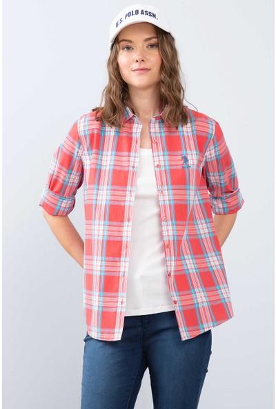 U.S. Polo Assn. Kadın Dokuma Gömlek 50208946-Vr041