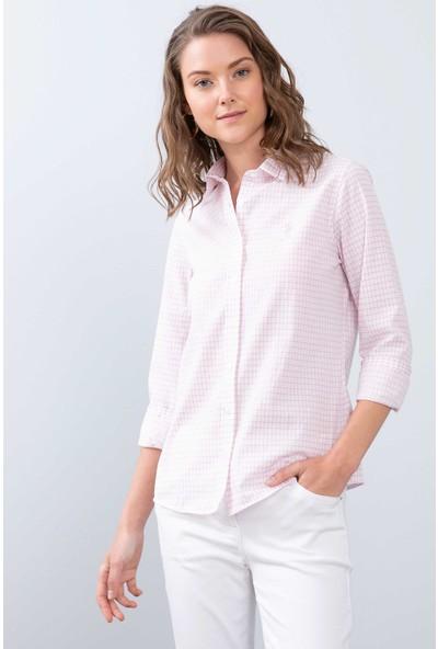U.S. Polo Assn. Kadın Dokuma Gömlek 50208995-Vr041