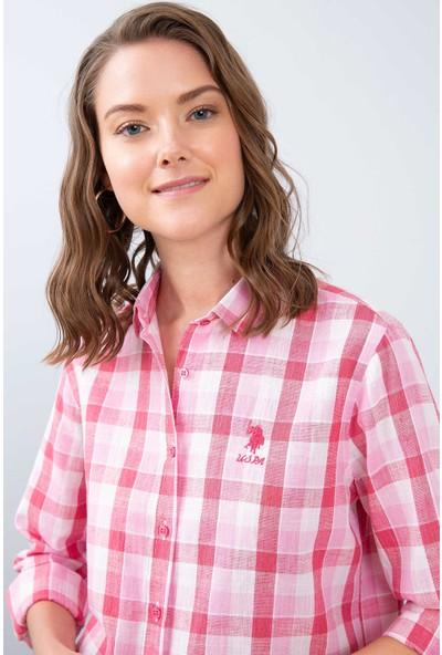U.S. Polo Assn. Kadın Dokuma Gömlek 50213896-Vr041