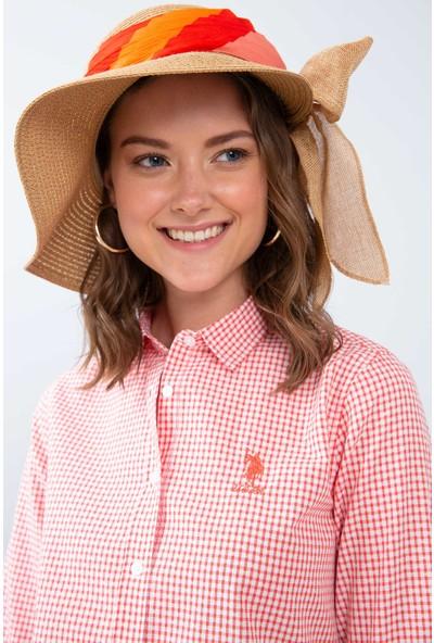 U.S. Polo Assn. Kadın Dokuma Gömlek 50208945-Vr051