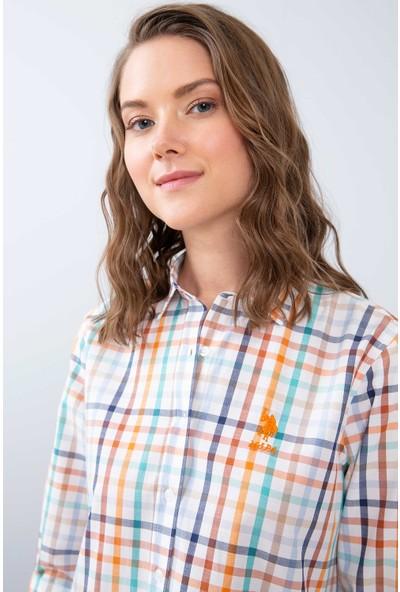 U.S. Polo Assn. Kadın Dokuma Gömlek 50208977-Vr051