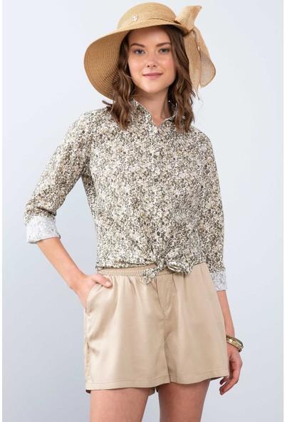 U.S. Polo Assn. Kadın Dokuma Gömlek 50213818-Vr027