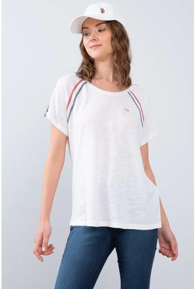 U.S. Polo Assn. Kadın T-Shirt 50202176-Vr013