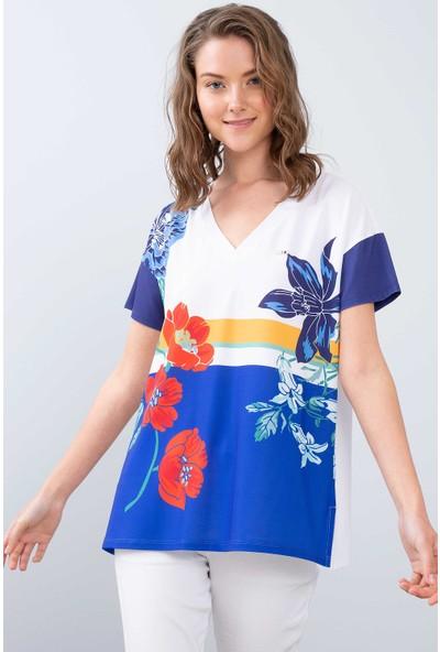 U.S. Polo Assn. Kadın T-Shirt 50202521-Vr045