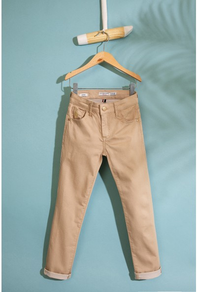 U.S. Polo Assn. Kız Cocuk Dokuma Spor Pant 50203110-Vr011