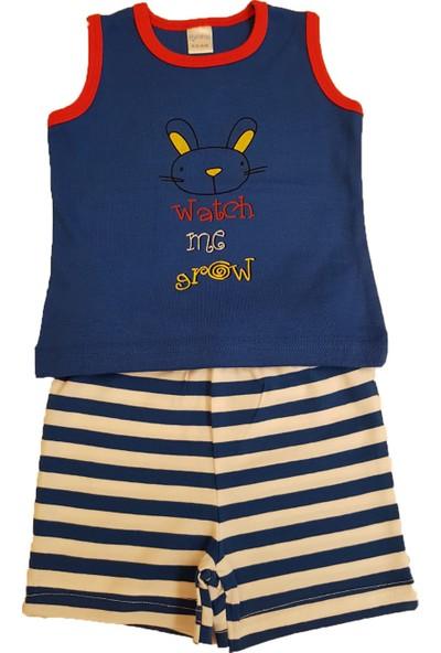 Mymosa Erkek Bebek T-Shirt Şort Takım