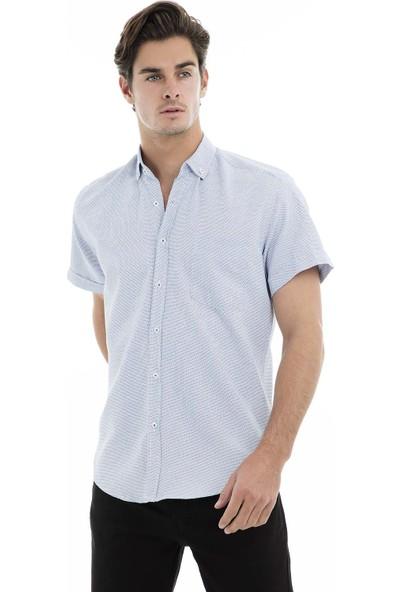 Buratti Kısa Kollu Gömlek Erkek Kısa Kollu Gömlek 50139