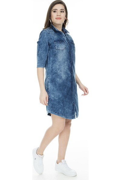 Cazador Elbise Kadın Elbise Cdr 7905