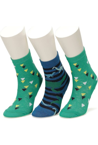I Cool Rawrsome 3 Lu Skt-B Lac Erkek Çocuk Soket Çorap