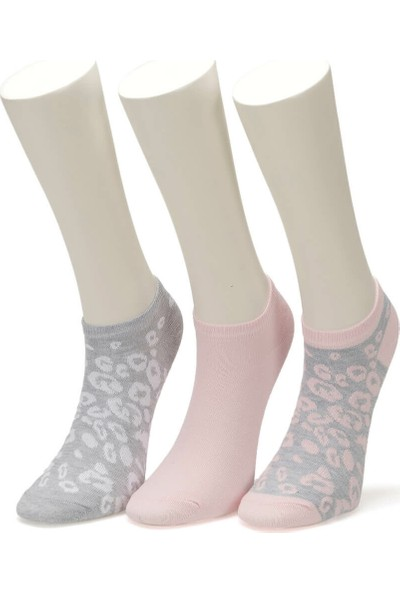 Miss F Leo 3 Lu Ptk-W Gr Kadın Patik Çorap