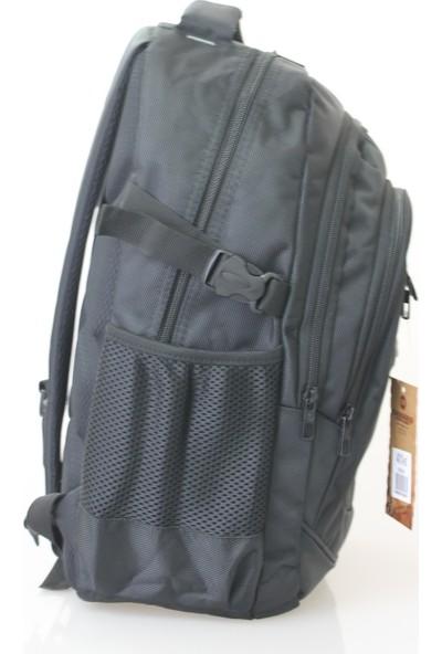 Cakard 15.6 Inc Laptop Bölmeli Sırt Çantası 4010-5 Siyah