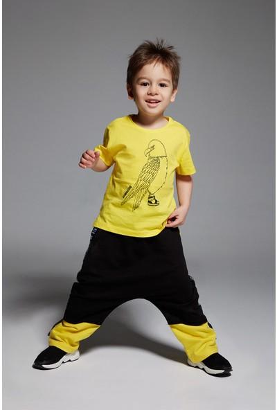 Monokido Iamnature Eagle T-Shirt Sarı