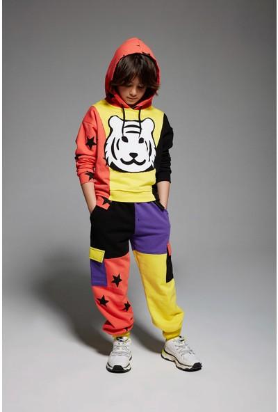 Monokido Tigo Tribe Sweatshirt Çok Renkli