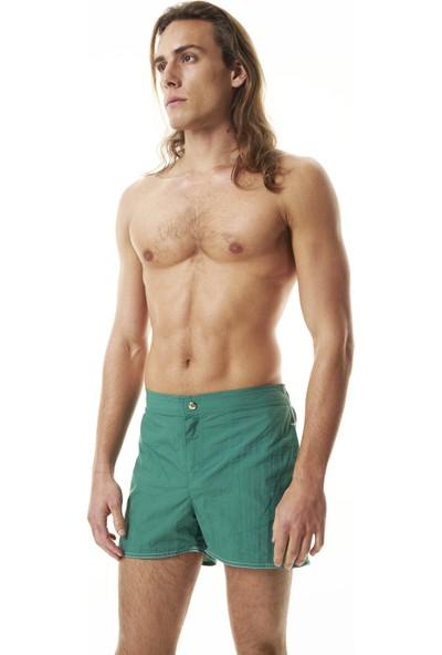 Shikoo Swimwear Beli Düğmeli Erkek Şort Mayo