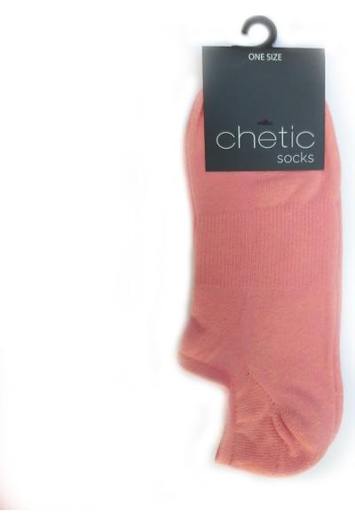 Chetic Açık Pembe Sneaker Kadın Çorap