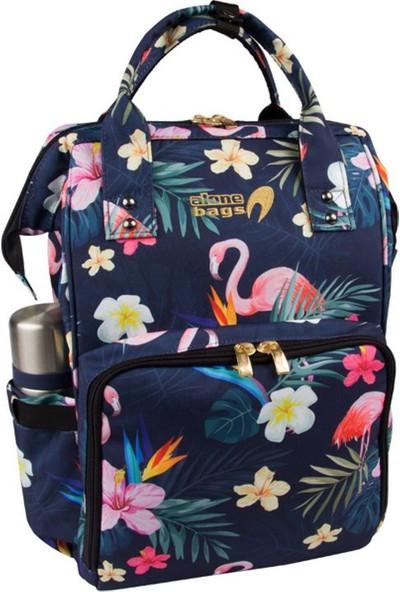 Alone 9317 Flamingo Bebek Bakım Çantası