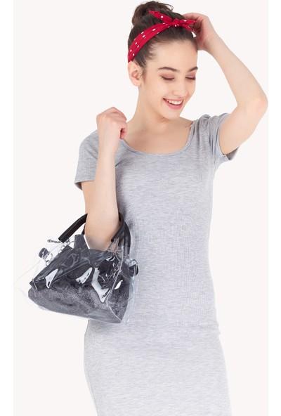 FullaModa Kadın Simli Çanta