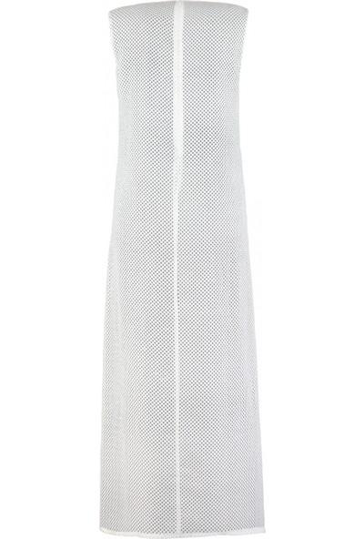 Mizalle File Kolsuz Elbise