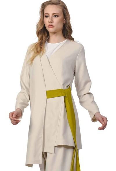 Mizalle Yandan Bağlamalı Kimono