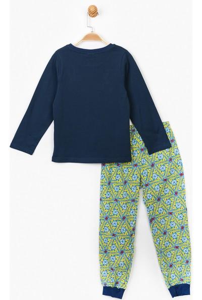 Spiderman Erkek Çocuk Pijama Takımı 15168