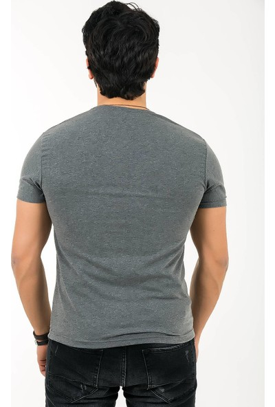 Ftx 6500 Slim Fit Kabartma T-Shirt
