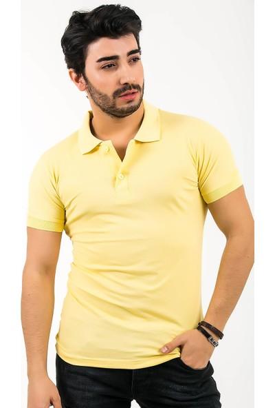 Ftx Likrali Slim Fit Polo Yaka T-Shirt