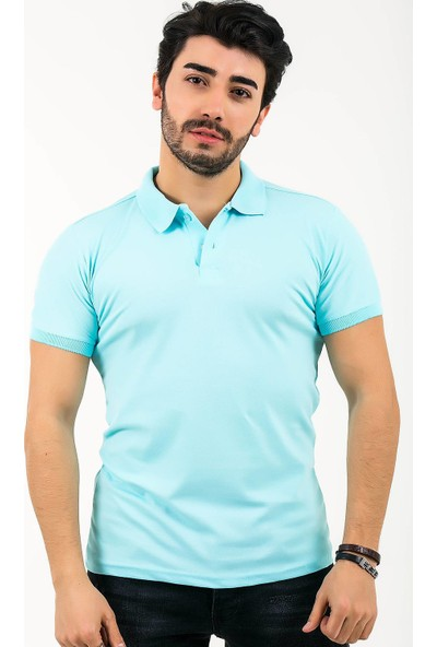 Ftx Likrali Slim Fit Polo Yaka T-Shirt