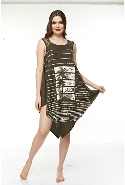 Real Passione Kadın Plaj Elbisesi Pareo