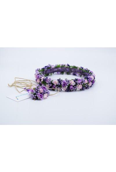 R'store Gelin Taç Çiçeği & Damat Yaka Çiçeği