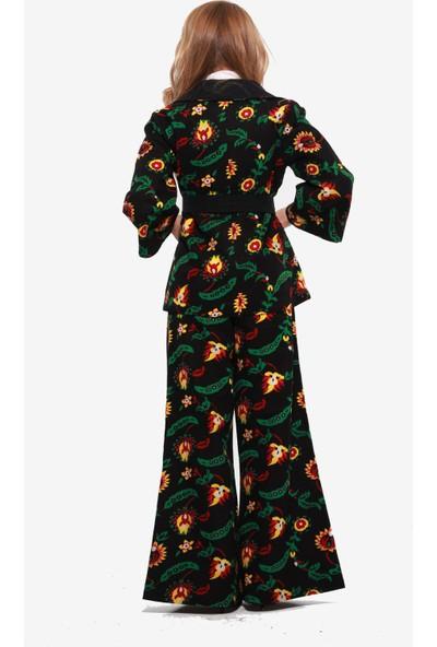 İna Dress Kadın Ceket Pantolon Takımı Divitin Pazenden Mevsimlik Dış Giyim Elbise