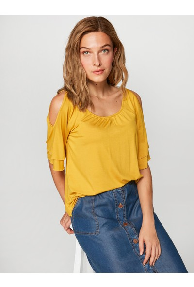 Faik Sönmez Kadın Basic Bluz 38024