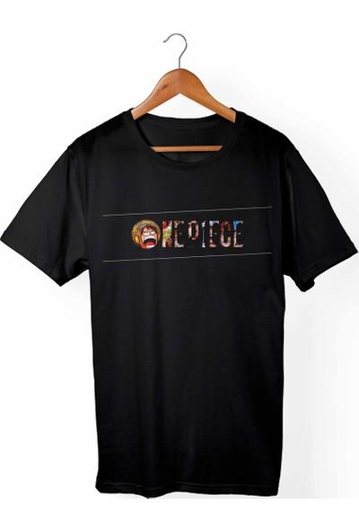 Muggkuppa One Piece Siyah T-Shirt