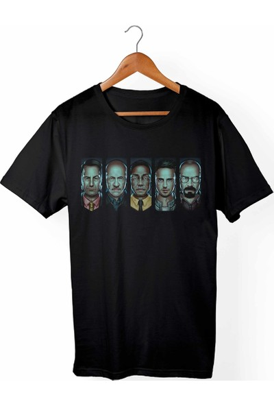 Muggkuppa Breaking Bad - Heinsenberg Siyah T-Shirt
