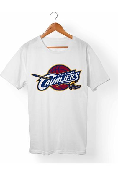 Muggkuppa Cleveland Cavaliers Beyaz T-Shirt
