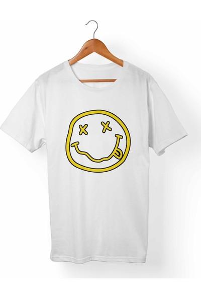 Muggkuppa Nirvana Beyaz T-Shirt