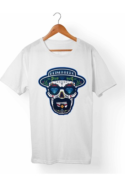 Muggkuppa Breaking Bad-Heinsenberg Beyaz T-Shirt