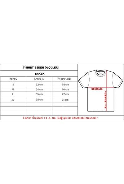 Muggkuppa Stranger Things Beyaz T-Shirt