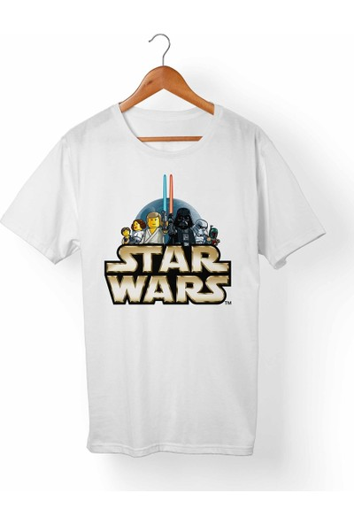 Muggkuppa Star Wars Beyaz T-Shirt