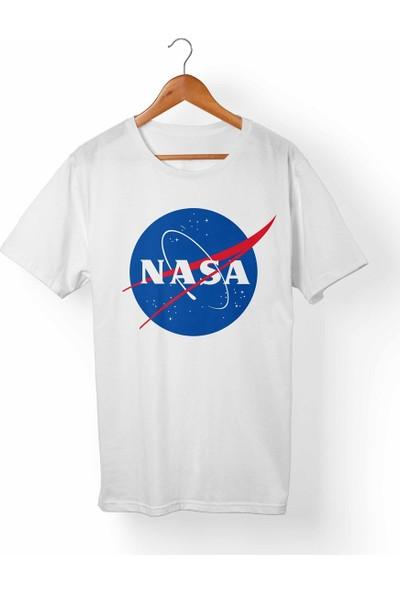 Muggkuppa Nasa Beyaz T-Shirt