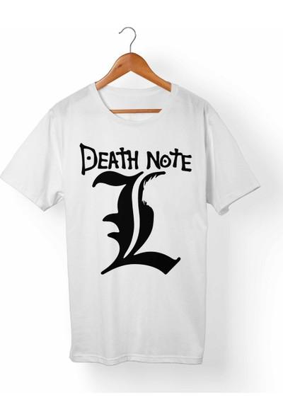 Muggkuppa Death Note-Ryuk Beyaz T-Shirt