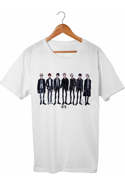 Muggkuppa Bts Beyaz T-Shirt