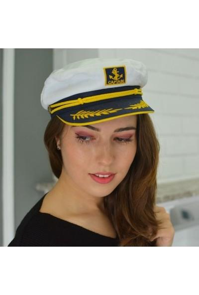 Külah Kadın Nakışlı Denizci Kasket