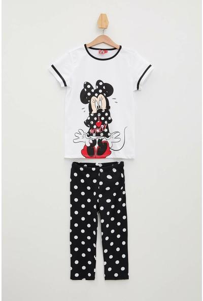 Defacto Minnie Me Lisanslı Pijama Takımı