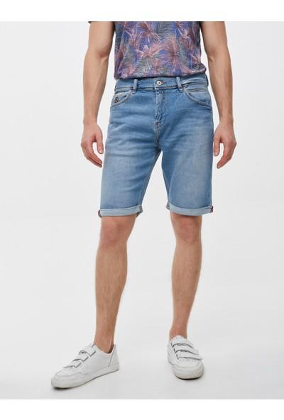 LTB Lance Fracture Wash Erkek Jeans Şort