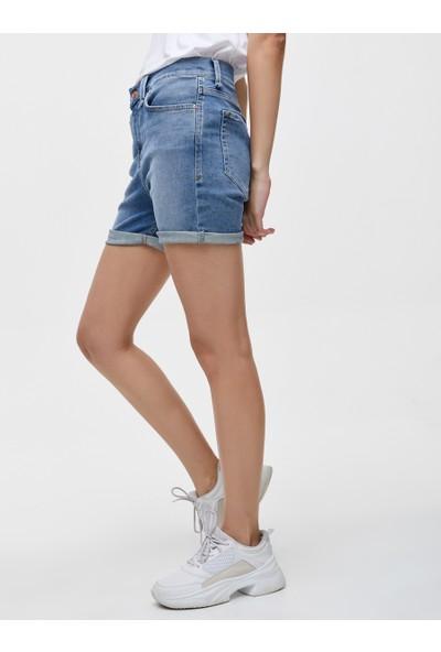 LTB Belissa Pain Wash Kadın Jeans Şort
