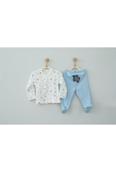 Andywawa AC9505 Baby Caretta 2'li Takım Blue