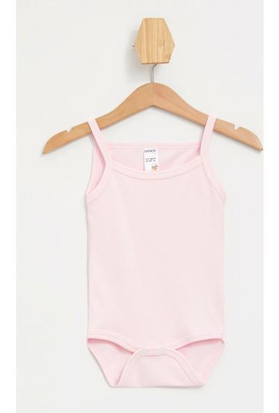 Defacto Kız Bebek Çıt Çıtlı Body Set