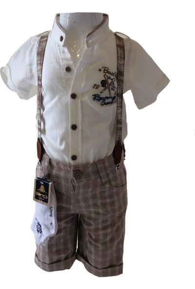 Benics 1647 Erkek Gömleklitakım