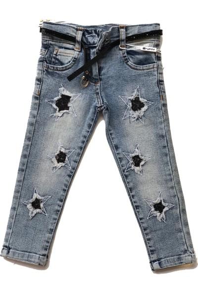 Oryeda 1408 Kız Kot Pantolon