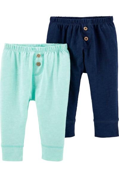 Carter'S Layette Erkek Bebek 2'Li Pantolon 16641510